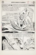 Original Comic Art:Panel Pages, Mike Sekowsky and Bernard Sachs Justice League of America #4page 13 Original Art (DC, 1961)....