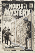 Original Comic Art:Covers, Dick Dillin and Jack Adler House of Mystery #92 Grey ToneCover Original Art (DC, 1959)....