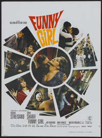"Funny Girl (Columbia, 1968). French Petite (23"" X 31""). Musical"