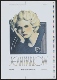 """Jean Harlow Proof (ALCO Standard Co., 1992). Poster Proof (14"""" X 20""""). Miscellaneous"""
