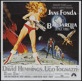 "Movie Posters:Science Fiction, Barbarella (Paramount, 1968). Six Sheet (81"" X 81""). ScienceFiction...."