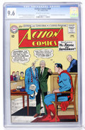 Silver Age (1956-1969):Superhero, Action Comics #301 (DC, 1963) CGC NM+ 9.6 Off-white to whitepages....