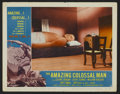 "Movie Posters:Science Fiction, The Amazing Colossal Man (American International, 1957). Lobby Card(11"" X 14""). Science Fiction...."