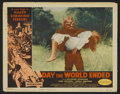 "Movie Posters:Science Fiction, Day the World Ended (American Releasing Corp., 1956). Lobby Card(11"" X 14""). Science Fiction...."