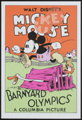 "Movie Posters:Animated, Barnyard Olympics (Circle Fine Arts, 1980s). Fine Art Serigraph (21"" X 30.75""). Animated...."