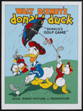 "Movie Posters:Animated, Donald's Golf Game (Circle Fine Arts, 1980s). Fine Art Serigraph(22.5"" X 30.5""). Animated...."