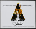 "Movie Posters:Science Fiction, A Clockwork Orange (Warner Brothers, 1972). Half Sheet (22"" X 28"").Science Fiction...."