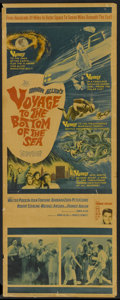 "Movie Posters:Adventure, Voyage to the Bottom of the Sea (20th Century Fox, 1961). Insert(14"" X 36""). Adventure...."