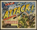 """Movie Posters:Documentary, Attack! The Battle for New Britain (RKO, 1944). Half Sheet (22"""" X 28"""") Style B. Documentary...."""