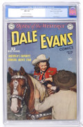 Golden Age (1938-1955):Western, Dale Evans Comics #9 Mile High pedigree (DC, 1950) CGC NM 9.4Off-white to white pages....