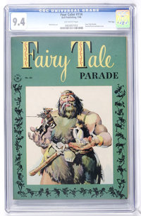 Four Color #114 Fairy Tale Parade - File Copy (Dell, 1946) CGC NM 9.4 Off-white pages