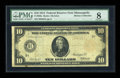 Fr. 900a $10 1914 Red Seal Federal Reserve Note PMG Very Good 8