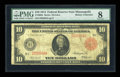 Large Size:Federal Reserve Notes, Fr. 900a $10 1914 Red Seal Federal Reserve Note PMG Very Good 8....