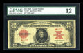 Large Size:Legal Tender Notes, Fr. 123 $10 1923 Legal Tender Star Note PMG Fine 12....