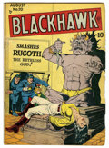Golden Age (1938-1955):War, Blackhawk #20 (Quality, 1948) Condition: VG-....