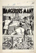 Original Comic Art:Splash Pages, John Severin and Will Elder Two-Fisted Tales #36 page 1 Original Art (EC, 1954)....