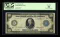 Large Size:Federal Reserve Notes, Fr. 939 $10 1914 Federal Reserve Note PCGS Very Fine 20....