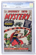 Silver Age (1956-1969):Superhero, Journey Into Mystery #83 (Marvel, 1962) CGC FN/VF 7.0 Cream tooff-white pages....
