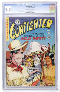 Gunfighter #12 (EC, 1949) CGC NM- 9.2 Off-white to white pages