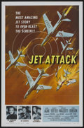 "Movie Posters:War, Jet Attack (American International, 1958). One Sheet (27"" X 41"")Flat-Folded. War...."