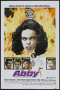 "Movie Posters:Blaxploitation, Abby (American International, 1974). One Sheet (27"" X 41"")Flat-Folded. Blaxploitation...."