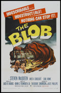"Movie Posters:Science Fiction, The Blob (Paramount, 1958). One Sheet (27"" X 41""). ScienceFiction...."