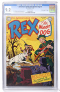 "Golden Age (1938-1955):Miscellaneous, Adventures of Rex the Wonder Dog #4 Davis Crippen (""D"" Copy) pedigree (DC, 1952) CGC NM- 9.2 Off-white pages...."