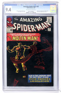Silver Age (1956-1969):Superhero, The Amazing Spider-Man #28 (Marvel, 1965) CGC NM 9.4 Off-white towhite pages....
