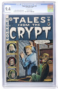 Golden Age (1938-1955):Horror, Tales From the Crypt #23 (EC, 1951) CGC NM 9.4 Off-white pages....