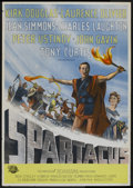 "Movie Posters:Adventure, Spartacus (Universal International, 1962). Swedish One Sheet (27.5""X 39.5""). Adventure...."