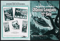 """Movie Posters:Science Fiction, 20,000 Leagues Under the Sea (Buena Vista, R-1971). Pressbook(Multiple Pages, 11"""" X 14.75""""). Science Fiction...."""