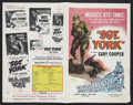 "Movie Posters:War, Sergeant York (Dominant, R-1956). Pressbook (Multiple Pages, 11"" X17""). War...."