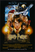 "Movie Posters:Fantasy, Harry Potter and the Sorcerer's Stone (Warner Brothers, 2001). One Sheet (27"" X 40"") DS Advance. Fantasy...."