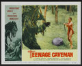 """Movie Posters:Science Fiction, Teenage Caveman (American International, 1958). Lobby Card Set of 8(11"""" X 14""""). Science Fiction.... (Total: 8 Items)"""