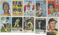 1950's-1970's Topps Baseball Hall of Famers/Superstar Collection (10)