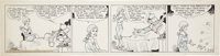Chic Young Blondie Daily Comic Strip Original Art, dated 3-28-31 (King Features Syndicate, 1931)