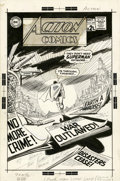 Original Comic Art:Covers, Carmine Infantino Action Comics #368 Superman Cover OriginalArt (DC, 1968)....