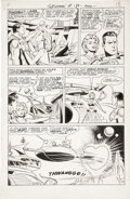Original Comic Art:Panel Pages, Wayne Boring Superman #189 page 15 Original Art (DC,1966)....