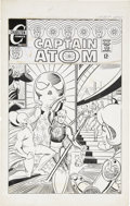 Original Comic Art:Covers, Steve Ditko Captain Atom #89 Unpublished Alternative CoverOriginal Art (Charlton, circa 1967)....