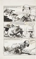 Original Comic Art:Panel Pages, Frank Frazetta Heroic Comics #87 page 2 Original Art(Eastern Color, 1953)....