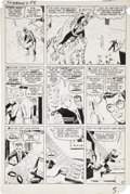 Original Comic Art:Panel Pages, Steve Ditko Amazing Spider-Man #6 page 5 Original Art(Marvel, 1963)....