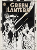 Original Comic Art:Covers, Gil Kane Green Lantern #71 Cover Original Art (DC, 1969)....