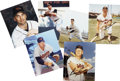 Autographs:Index Cards, Baltimore Orioles Greats Signed Index Cards Lot of 16....