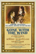 "Movie Posters:Academy Award Winner, Gone with the Wind (MGM, 1939). One Sheet (27"" X 41"") Style CF...."