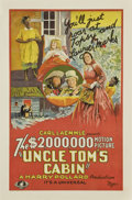 "Movie Posters:Drama, Uncle Tom's Cabin (Universal, 1927). One Sheet (27"" X 41"")...."