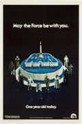 "Movie Posters:Science Fiction, Star Wars (20th Century Fox, 1977). One Sheet (27"" X 41"") HappyBirthday Style...."