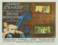 "Movie Posters:Hitchcock, Rear Window (Paramount, 1954). Half Sheet (22"" X 28"") Style A...."