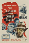 "Movie Posters:Drama, The Treasure of the Sierra Madre (Warner Brothers, 1948). One Sheet (27"" X 41"")...."