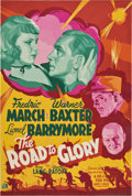 "Movie Posters:War, The Road to Glory (20th Century Fox, 1936). Poster (40"" X 60"")...."