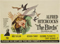 "Movie Posters:Hitchcock, The Birds (Universal, 1963). British Quad (30"" X 40"")...."